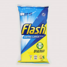 Flash Anti-Bacterial Strong & Thick Cleaning Wipes