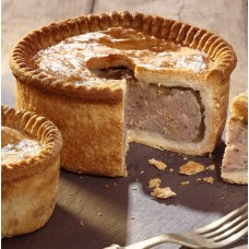 Traditional Pork Pie by Cheshire Pie Co. 454g. Pre order now for delivery from Wednesday 16th December