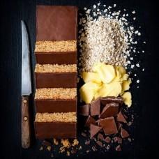 Milk Chocolate Flap Jacks -  410g pack