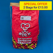 Big K Charcoal Special Offer Lumpwood 5kg (2 bags)