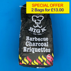 Big K Charcoal Special Offer Briquettes (2 bags)