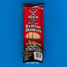 Big K Extra Long Flat Bamboo Skewers