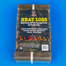 Big K Heat Logs x 12- Perfect For Fires and Chimineas