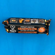 Big K Instant Light 'Crackle' Log- Perfect for Fires and Chimineas