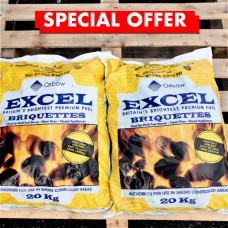 Smokeless Coal - Buy Two 20kg Bags