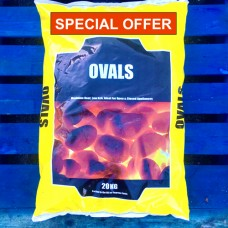 Smokeless Ovals - Buy Two 20kg Bags
