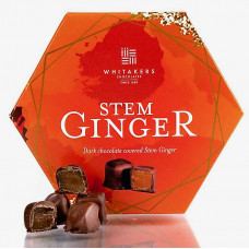 Whitakers Stem Ginger Chocolates 180g