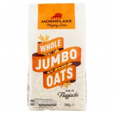 Mornflake Whole Jumbo Oats. 500g