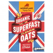 Mornflake Organic Superfast Oats, 750g