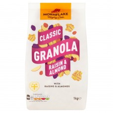 Mornflake Classic Granola Raisin & Almond, 1kg