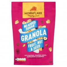 Mornflake No Added Sugar Granola, Fruit, Nut & Seed, 500g