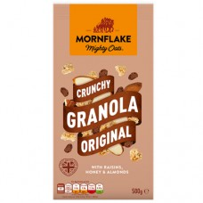 Mornflake Crunchy Granola Original - Raisins, Honey & Almonds 500g
