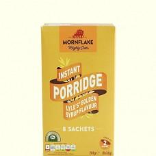 Mornflake Instant Porridge - Lyle's Golden Syrup Flavour 8 Sachets 288g (8 x 36g)