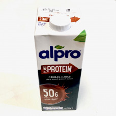 Alpro High Protein Chocolate Flavoured Soya Drink 1L