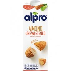 1 litre alpro unsweetened almond milk