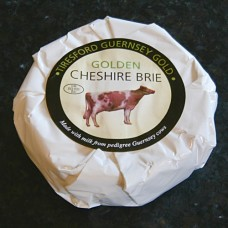 Golden Cheshire Brie. 228gm