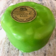 Tomato & Basil Bexton Cheese 200g (contains garlic)