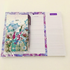 Pocket Diary & Meal Planner Set 2021. NEW