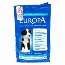 Europa Puppy Chicken & Rice. 2Kg