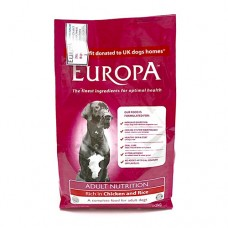 Europa Adult Nutrition, Rich in Chicken and Rice 2Kg