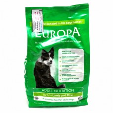 Europa Adult Nutrition, Rich in Lamb and Rice 2Kg