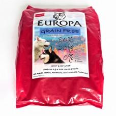 Europa Grain Free 80/20 Poultry & Fish. 5Kg