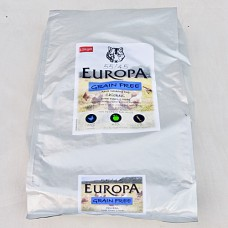 Europa Grain Free, Chicken, Sweet potato and herbs, 55/45 12Kg