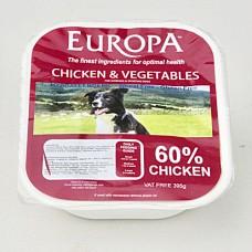 Europa Chicken & Vegetables 395g