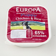 Europa Chicken & Rice Puppy 395g