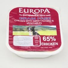 Europa Grain Free Salmon & Ocean Fish with Sweet Potato, 395g