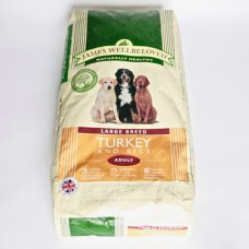 James Wellbeloved - Large Breed - Turkey and Rice, Adult. 15Kg