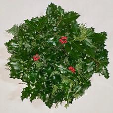 Plain Holly Wreath
