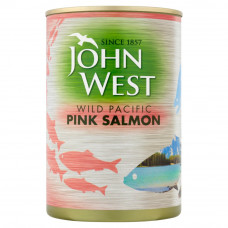 John West Wild Pacific Pink Salmon 418g
